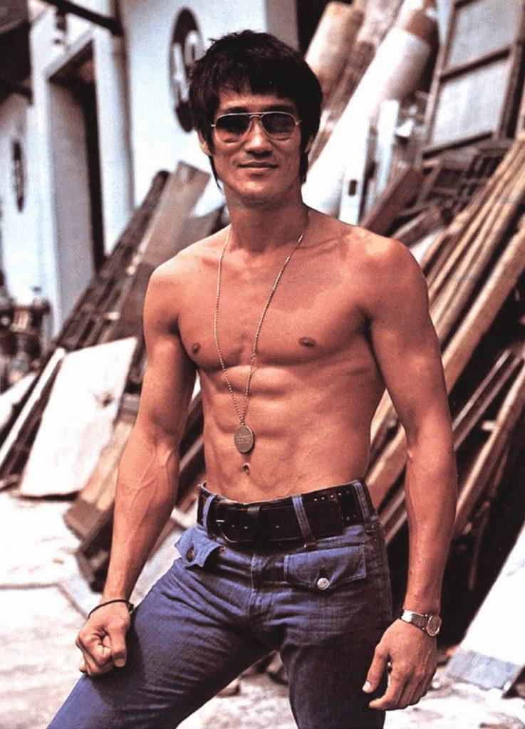 Sexy Bruce Lee photo