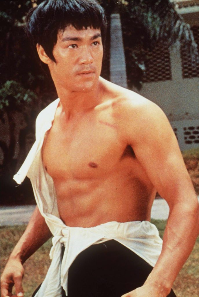 Bruce Lee karate chest