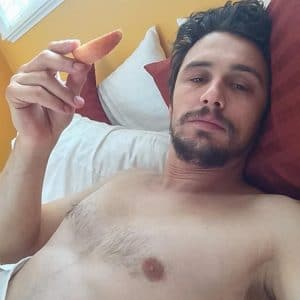 pic of james franco naked in bed