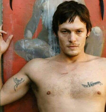 sexy pic of norman reedus with shirt off