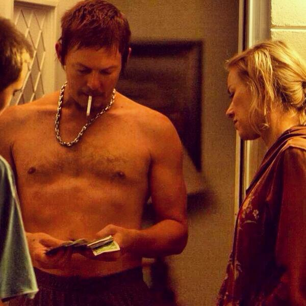 celeb norman reedus nude body with cig in his mouth