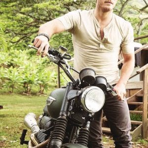 Chris Pratt motorcycle