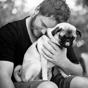 Chris Pratt pug puppy