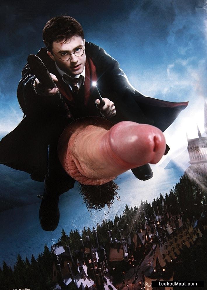 Daniel Radcliffe cock rocket