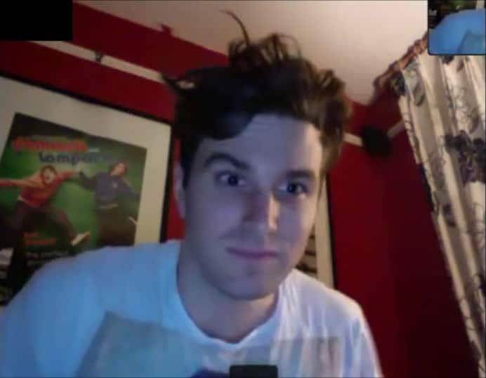 Joel Dommett on Skype