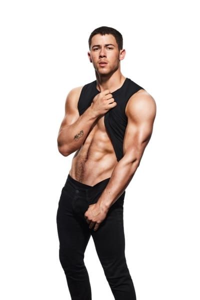 Nick Jonas gymastics photo soot (6)