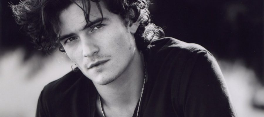 Orlando Bloom looking very dreamy