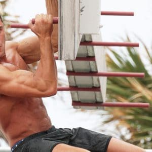 zac efron beach work out showing off that sexy body