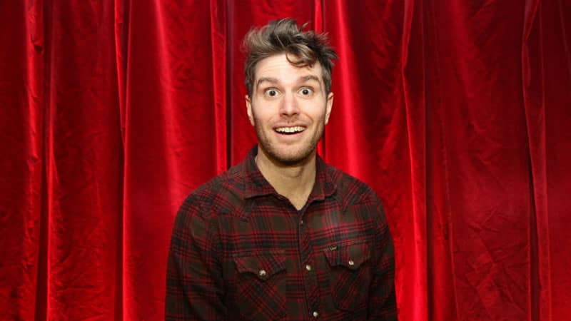 Joel Dommett surprised