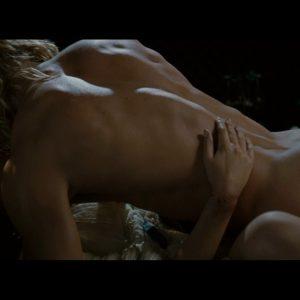 Brad in hot sex scene on top of woman