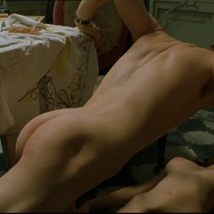 sex scene of brad pitt showing off his ass and dick