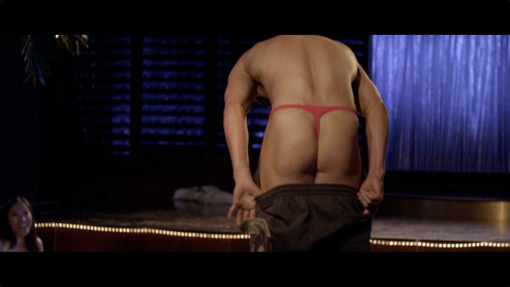 Channing Tatum thong butt