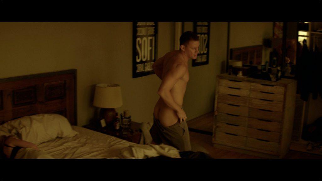 Channing Tatum undressing