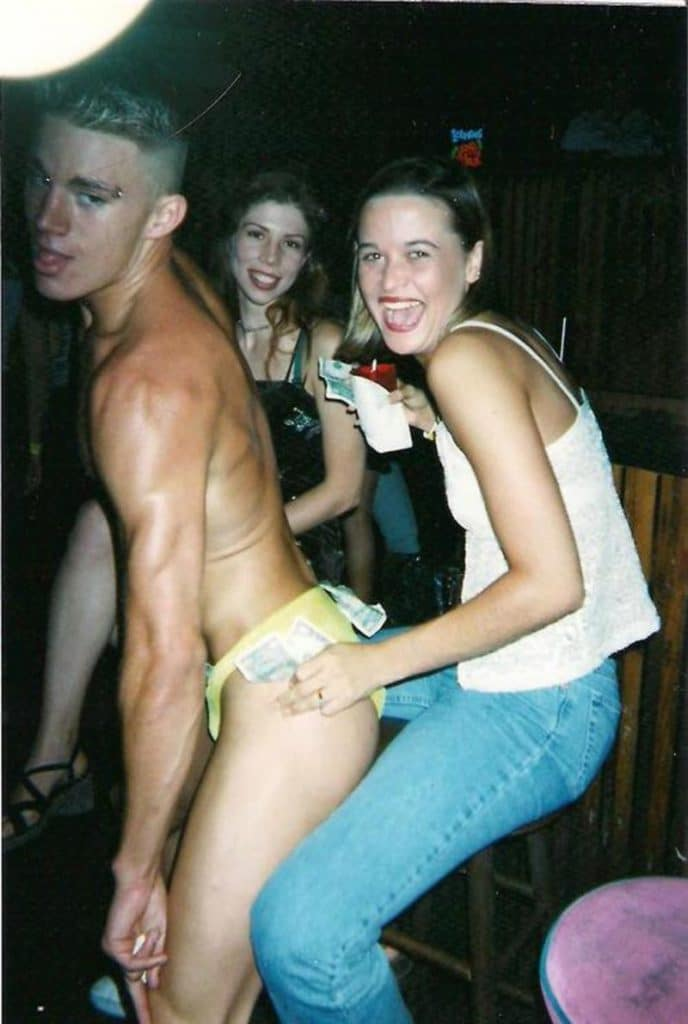 Channing Tatum young male stripper