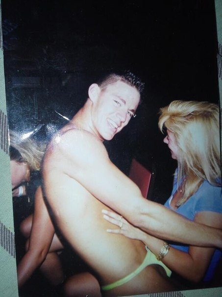 Channing Tatum banana hammock