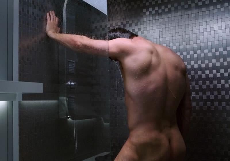 Chris Pratt ass in the shower