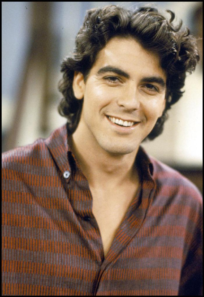 A young George Clooney
