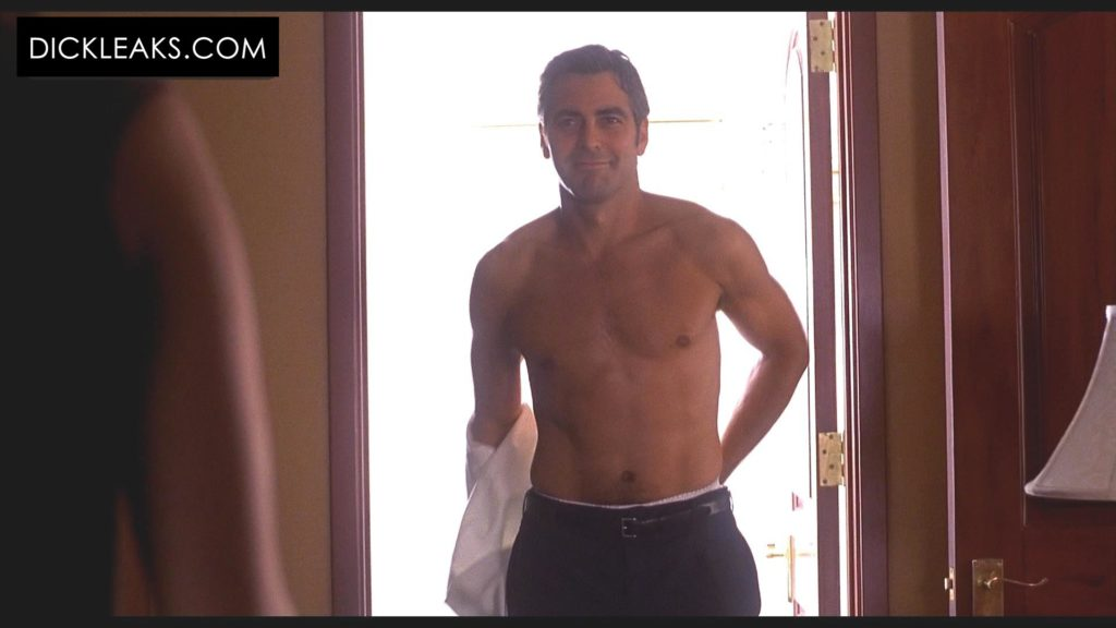 George Clooney undressing Out of Sight