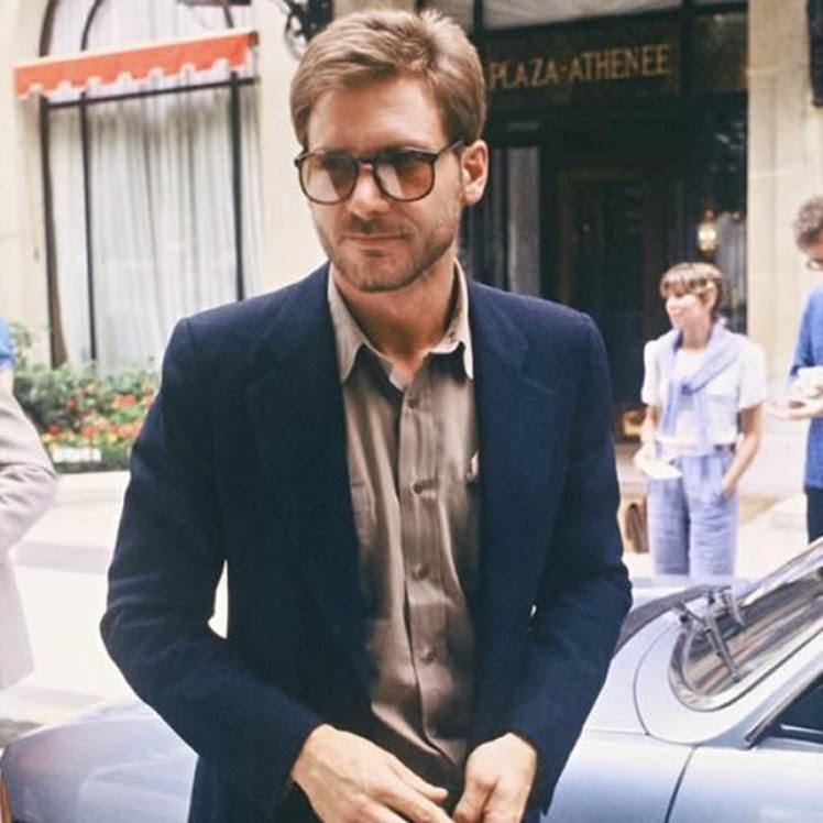Harrison Ford retro handsome man sunglasses