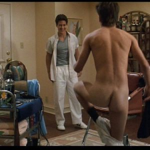 sexy johnny depp taking off his pants and baring his ass
