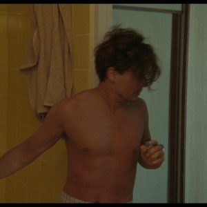 shirtless johnny depp about to get naked