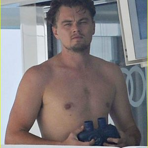 leaked pic of leonardo dicaprio on a boat