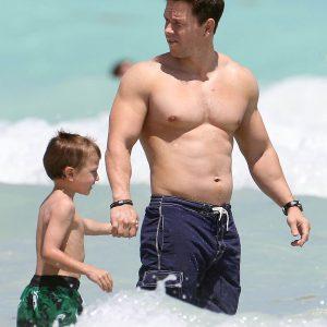 Mark Wahlberg paparazzi photo