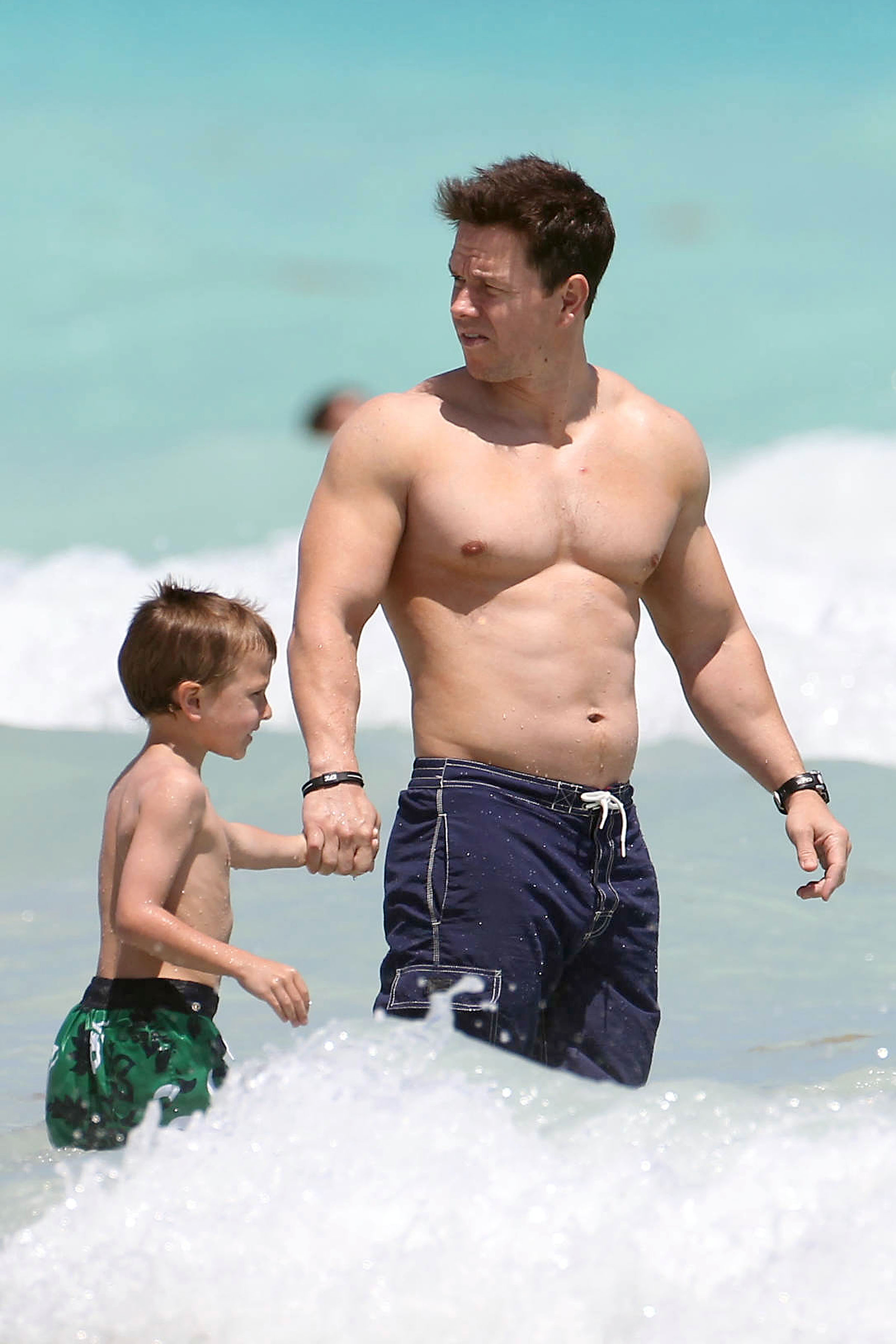 Bam Mark Wahlberg With No Shirt - Leaked Men-3916