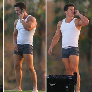 Mark Wahlberg dick bulge pic