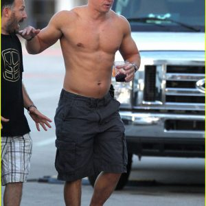 Mark Wahlberg big muscles