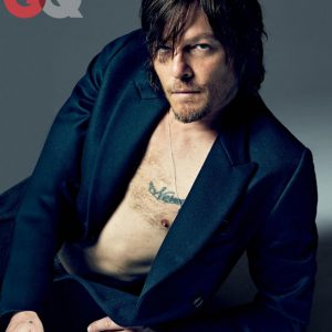 handsome norman reedus cover of gq pic