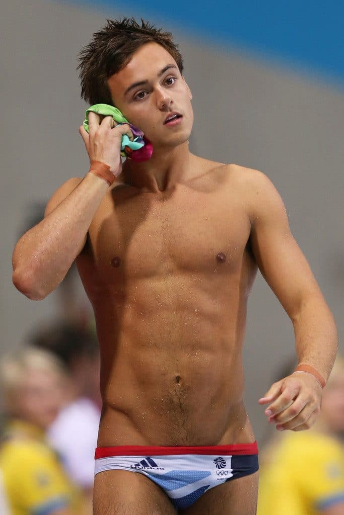 Tom Daley nice body