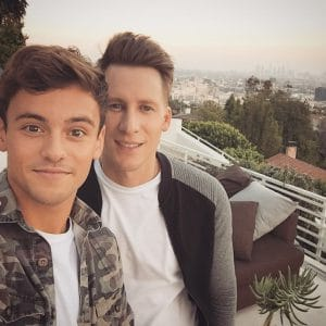 Tom Daley & gay bf Dustin Lance Black