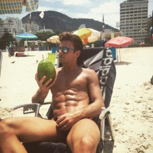 Tom Daley hot body beach