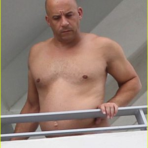 Vin Diesel leaked photo