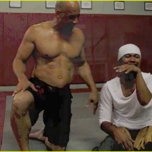 Vin Diesel chest