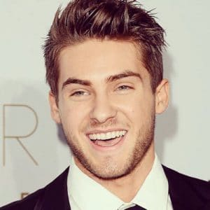 cody christian smiling big at awards