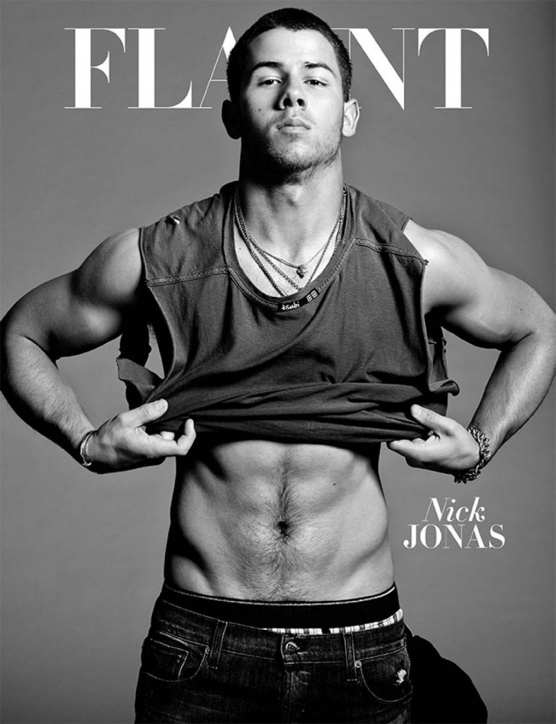 Nick Jonas Flaunt Magazine Cover