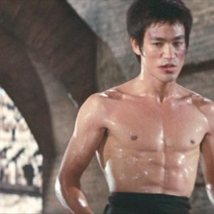 Bruce Lee shirtless (Game of Death)