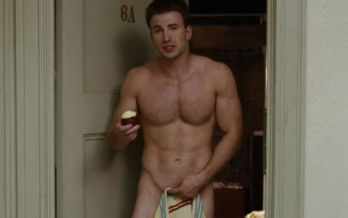 Chris Evans nude pic