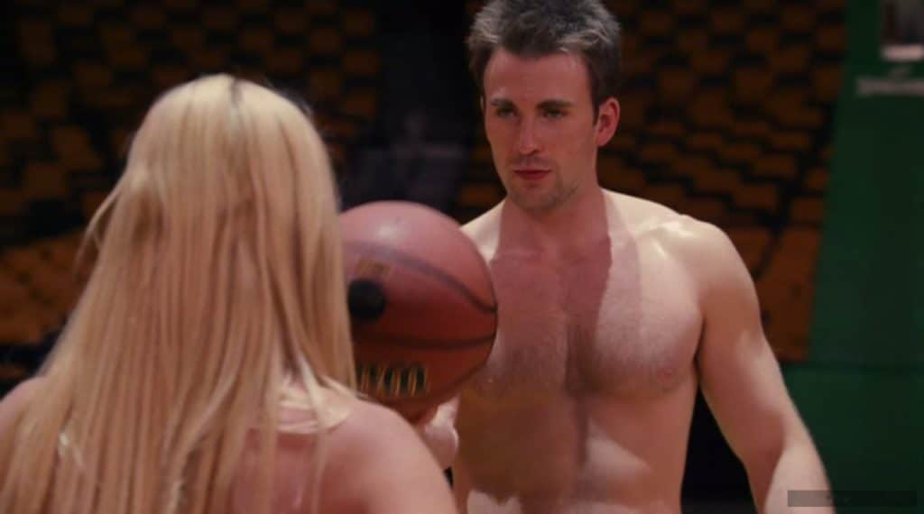 Chris Evans chest