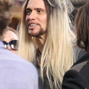 Jim Carrey in a wig