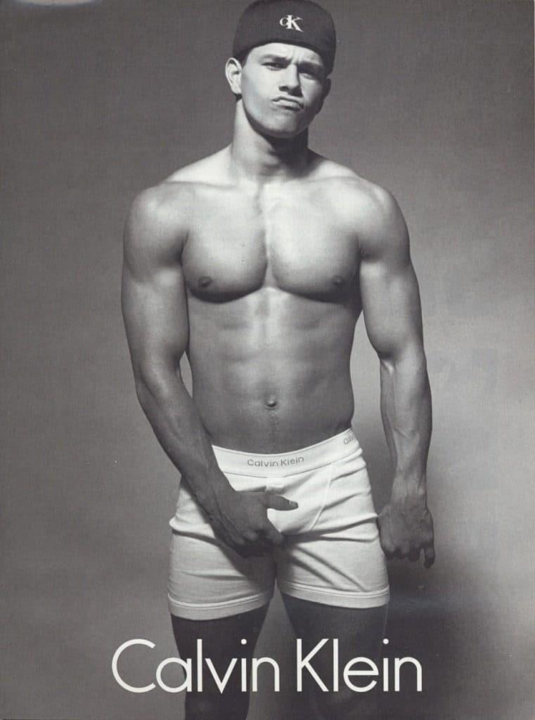 Mark Wahlberg Calvin Klein bulge