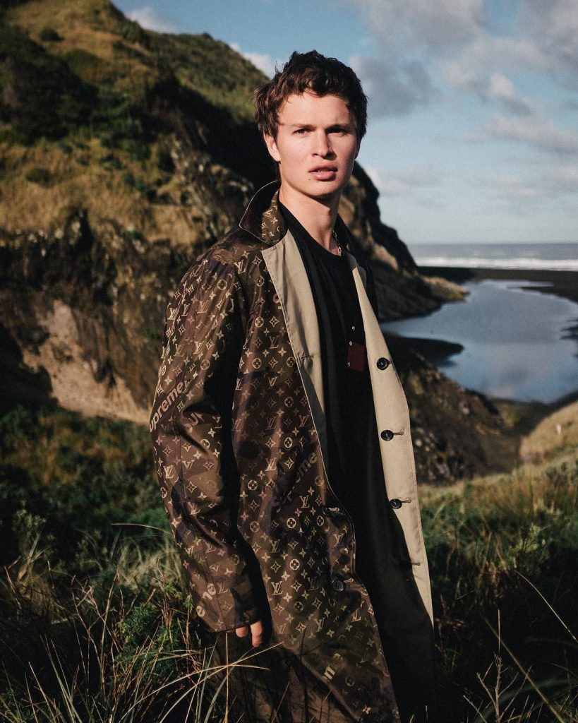 Ansel Elgort male model