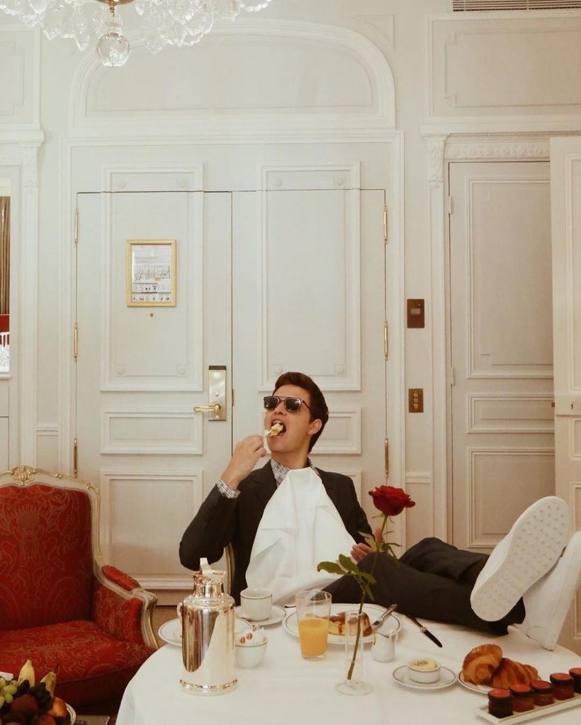 Ansel Elgort sunglasses