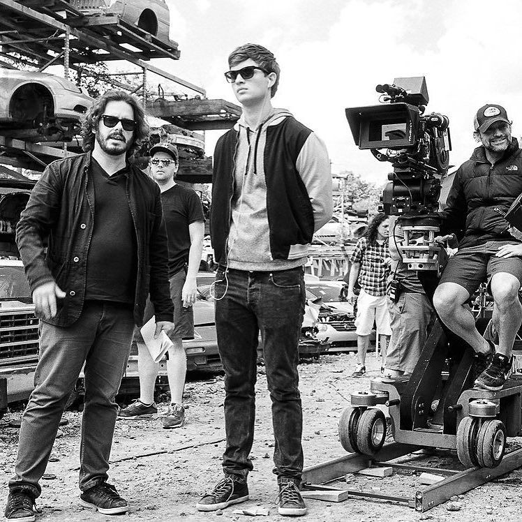 shooting for Baby Driver