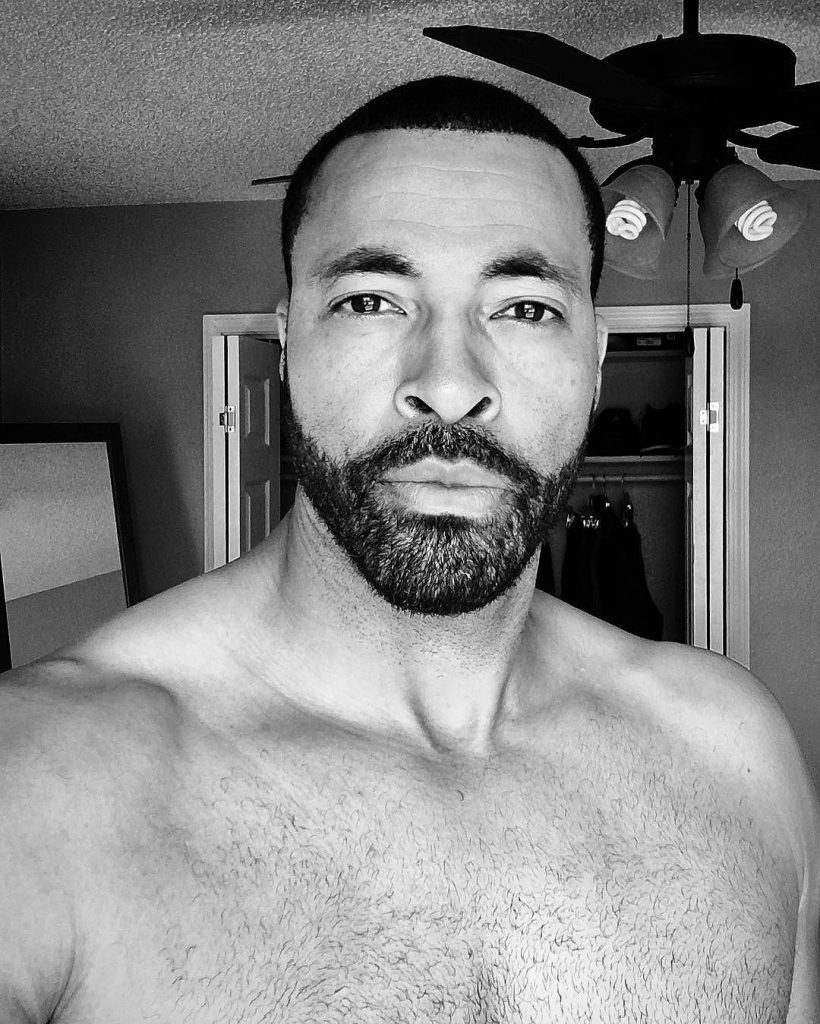 Timon Kyle Durrett is handsome with his shirt off