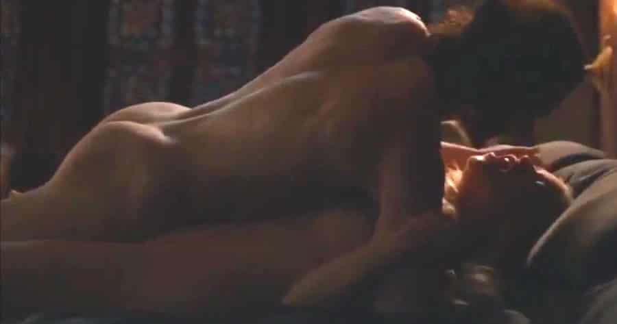 Jon Snow and Daenerys Targaryen having sex