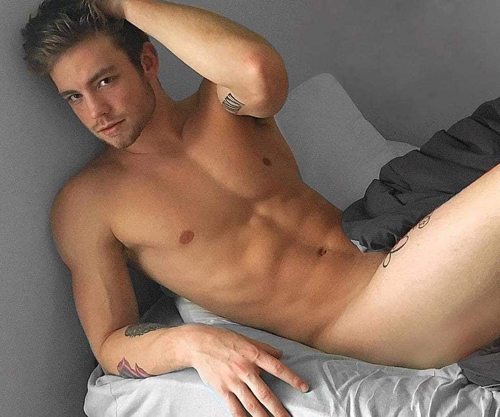 Dustin McNeer Naked in bed