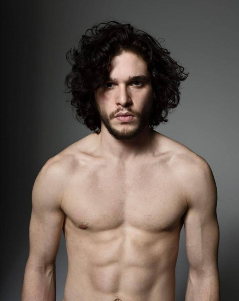 Kit Harington shirtless body